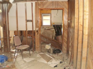 Interior of Aretha Robinson's House